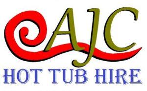 ajc hot tub hire logo