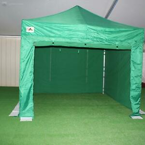 3m x 3m gazebo with 4 sides and leg weights